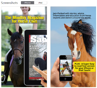 Saddle and Stirrups Magazine, online publication for the horse enthusiast - www.heavenlygaitsequinemassage.com