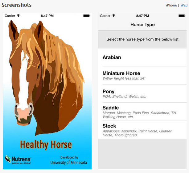 Healthy Horse Weight Calculator App - www.heavenlygaitsequinemassage.com