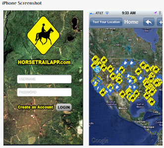 Horse trail app for the trail riding enthusiast - www.heavenlygaitsequinemassage.com