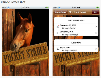 EQ Stable pocket stable Smartphone apps for horse owners - www.heavenlygaitsequinemassage.com