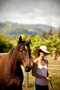 Alissa Mayer is a Certified Equine HannaSomatic Eductora - Mind-Body Integration for Performance Enhancement